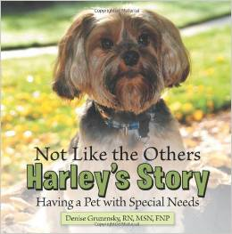 Harleys Story kids book special needs pets